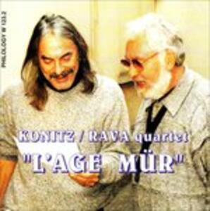 L'age Mur - CD Audio di Lee Konitz,Enrico Rava