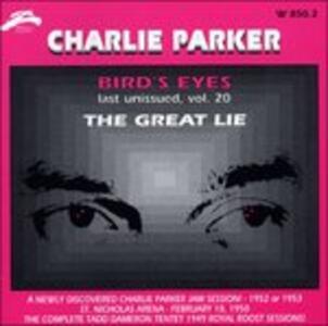 Bird's Eyes vol.20 - CD Audio di Charlie Parker
