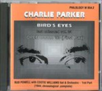 Bird's Eyes vol.24 - CD Audio di Charlie Parker