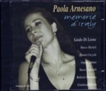 Memorie d'Italy - CD Audio di Paola Arnesano