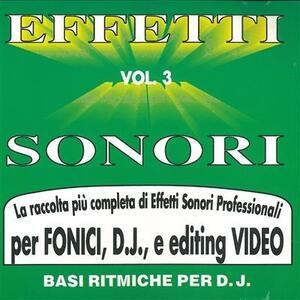 Effetti Sonori vol.3 - CD Audio
