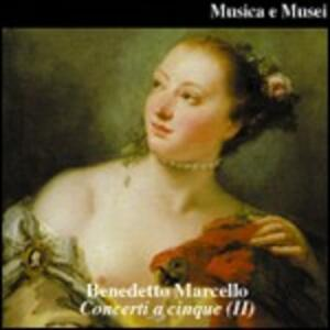 Concerti a cinque n.7, n.8, n.9, n.10, n.11, n.12 - CD Audio di Benedetto Marcello