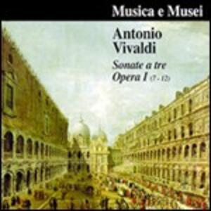 Sonate a tre n.7, n.8, n.9, n.10, n.11, n.12 - CD Audio di Antonio Vivaldi