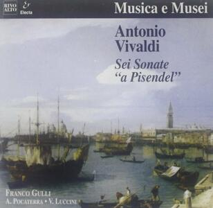 Sonate RV2, RV5, RV6, RV19, RV25 - CD Audio di Antonio Vivaldi