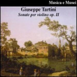 Sonate per violoncello op.2 - CD Audio di Giuseppe Tartini