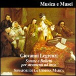 Sonate e balletti per strumenti ad arco - CD Audio di Giovanni Legrenzi