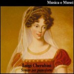 Sonate per pianoforte n.1, n.2, n.3, n.4, n.5, n.6 - CD Audio di Luigi Cherubini