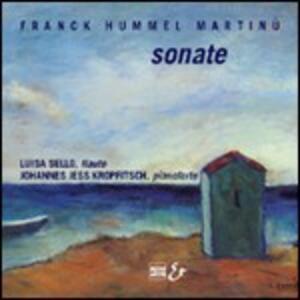 Sonata X fl - CD Audio di César Franck,Luisa Sello