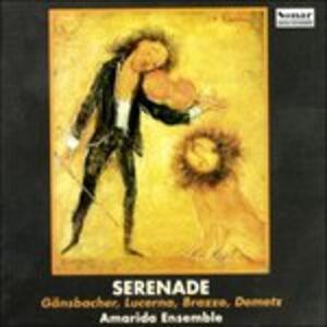 Sonata a 4 per Faluto, Violino, Viola e Chitarra - Serenade - CD Audio di Francesco Brazzo