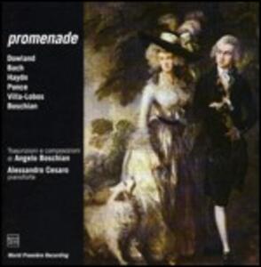 Promenade - CD Audio di Angelo Boschian
