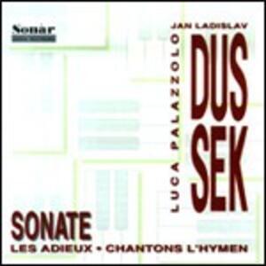 Sonata X Pf n.24 Op.61, n.3 Op.69, Les Adieux - CD Audio di Franz Xaver Dussek