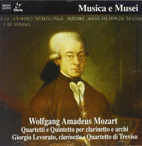 Quintetto X Clar e Archi K 581, Quartetto X Clar e Archi K 317d, K 374f - CD Audio di Wolfgang Amadeus Mozart