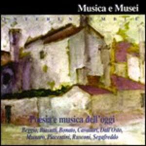 Poesia e Musica Dell'oggi - CD Audio