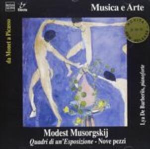 Quardri di Una Esposizione, Nove Pezzi - CD Audio di Modest Petrovich Mussorgsky
