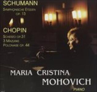 Studi Sinfonici Op.13, 5 Variazioni Op.postuma - CD Audio di Robert Schumann