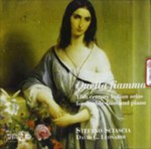 """Arie Italiane X Cb e Pf """"quella Fiamma"""" - CD Audio"""