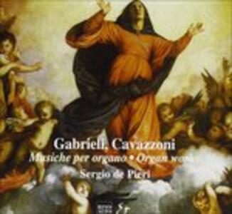 Musiche per Organo - CD Audio di Andrea Gabrieli