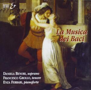 """Musica Vocale Dell'800 Italiana""""la Musica Dei Baci"""" - CD Audio"""