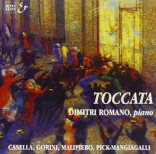 Toccata - CD Audio di Dimitri Romano