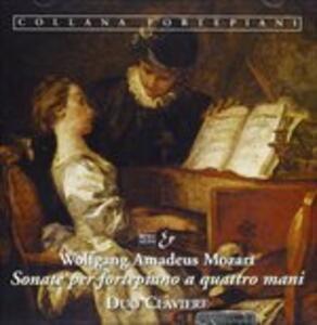 Sonata X Fortepiano K 19d, K 381, K 358, Fuga K 401, Andante Variazioni K 501 - CD Audio di Wolfgang Amadeus Mozart
