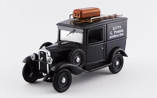 Fiat Balilla 1936 Ditta G. Patrone Materiali Edili 1:43 Model Ri4518 - 2