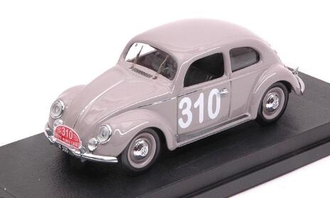 Volkswagen Vw Maggiolino #310 248Th Monte Carlo 1954 P. Mourier / B. Ramsing 1:43 Model Ri4558 - 2