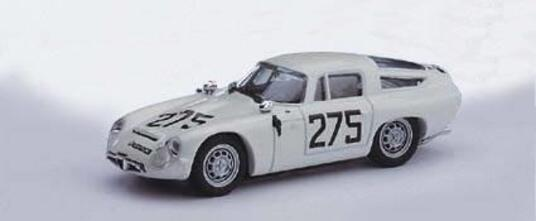 Alfa Romeo Tz1 #275 3Rd Coppa F.I.S.A. Fisa Monza 1963 G. Baghetti 1:43 Model Bt9060