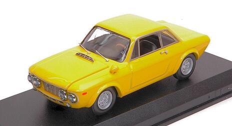 Lancia Fulvia Coupè 1600 Hf Fanalone 1968 Yellow 1:43 Model Bt9677 - 2