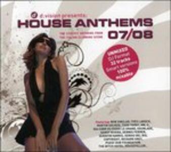 House Anthems 07-08 - CD Audio