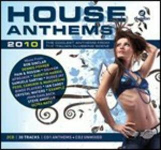 House Anthems Summer 2010 - CD Audio