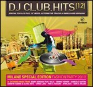 DJ Club Hits 12 - CD Audio