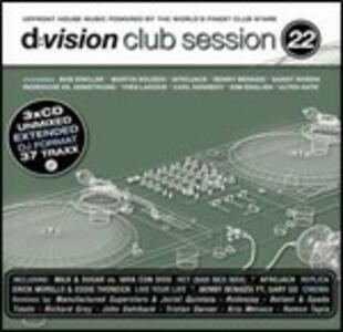 D:vision Club Session 22 - CD Audio
