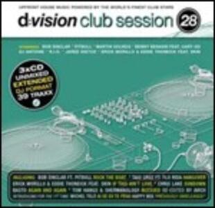 D:Vision Club Session 28 - CD Audio