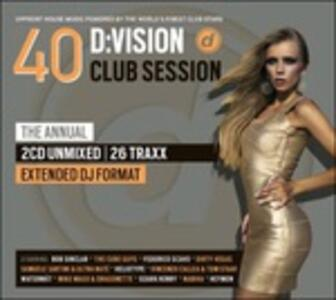 D:Vision Club Session 40 - CD Audio