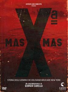 X Mas. Storia degli uomini che volevano bruciare New York (DVD) di Giorgio Carella - DVD