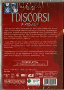 I discorsi di Mussolini (2 DVD) - DVD - 2