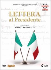 Lettera al presidente di Marco Santarelli - DVD