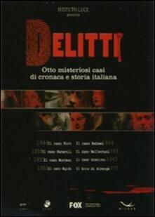 Delitti (8 DVD) di Giacomo Cimini