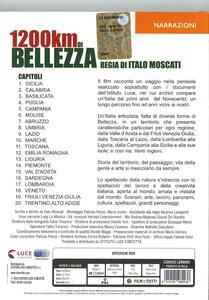 1200 Km di bellezza di Italo Moscati - DVD - 2