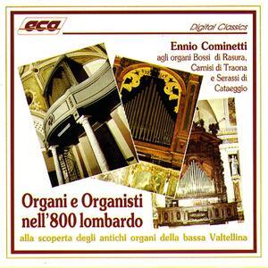 Organi e organisti nell'800 - CD Audio di Ennio Cominetti