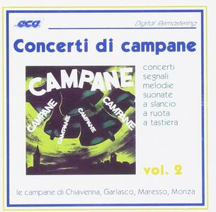 Concerti di campane vol.2 - CD Audio