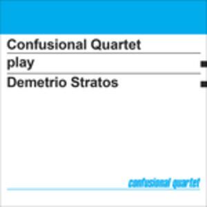 Play Demetrio Stratos - Vinile LP di Confusional Quartet