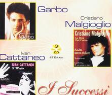 I Successi. Garbo, Cattaneo, Malgioglio - CD Audio di Ivan Cattaneo,Garbo,Cristiano Malgioglio