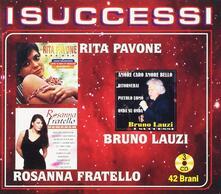I Successi. Rita Pavone e Bruno Lauzi - CD Audio di Bruno Lauzi,Rita Pavone