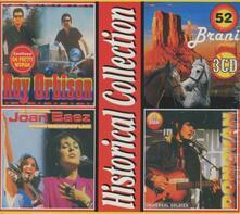 Historical Collection - CD Audio di Joan Baez,Roy Orbison,Donovan