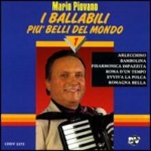 I ballabili più belli del mondo vol.1 - CD Audio di Mario Piovano