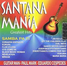 Santanamania Greatest Hits - CD Audio di Guitar Man
