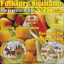 Folklore siciliano vol.2 - CD Audio