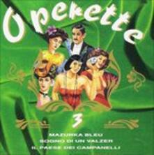 Operette vol.3 - CD Audio