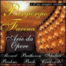 Arie da opere - CD Audio di Piergiorgio Farina